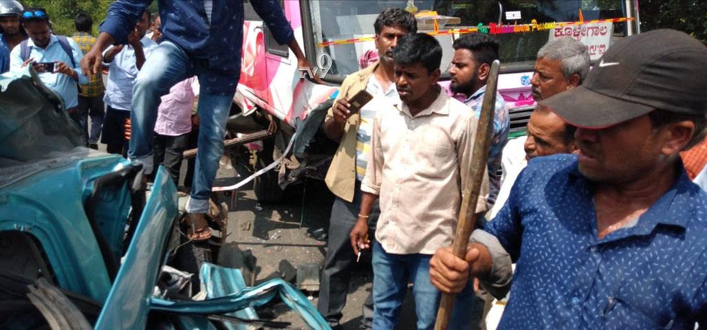 mysuru car accident 3 Bangaloreans died, ಮೈಸೂರಲ್ಲಿ ಅಪಘಾತ: ಗೃಹ ಪ್ರವೇಶಕ್ಕೆ ಹೋಗಿದ್ದ ಬೆಂಗಳೂರಿನ ಮೂವರ ಸಾವು