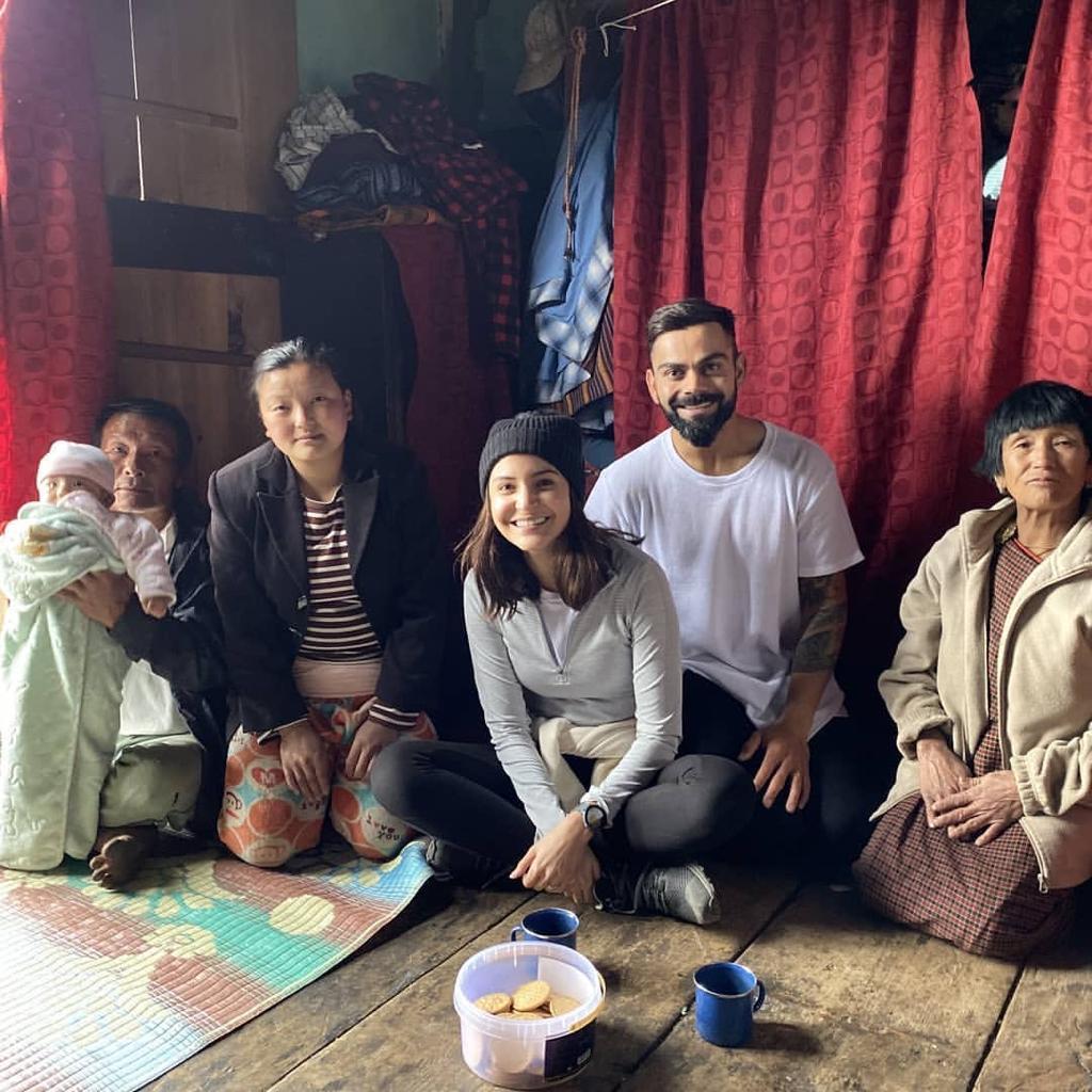 Virat Anushka enjoying birthaday in bhutan, ವಿರಾಟ್ ಗೆ 31ರ ಸಂಭ್ರಮ, ಹುಟ್ಟುಹಬ್ಬ ಆಚರಿಸಲು ಪತ್ನಿ ಜೊತೆ ಭೂತಾನ್ ಗೆ ಪಯಣ