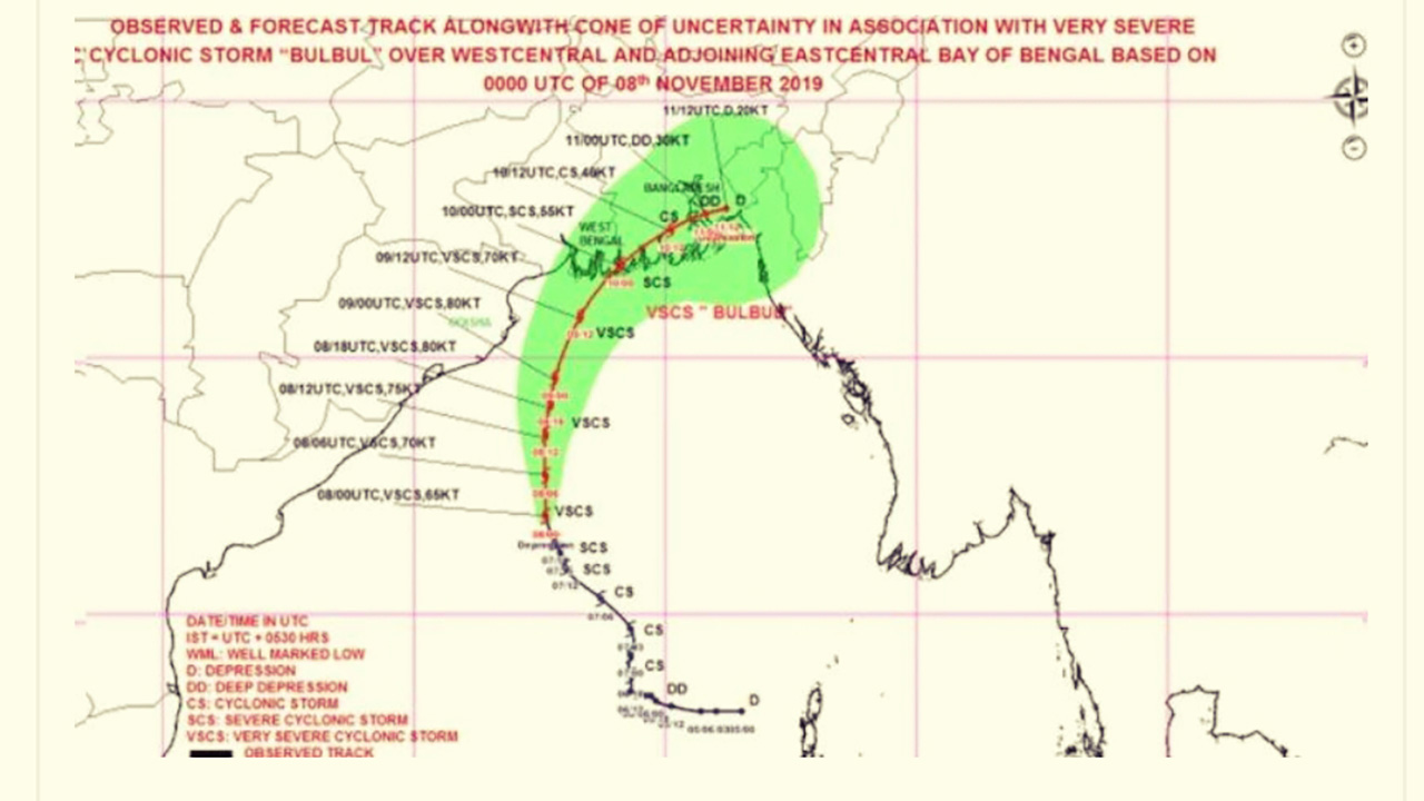 Bulbul cyclone effect in karnataka, ಈ ವಾರಾಂತ್ಯ ಮಳೆಯಲಿ.. ಬುಲ್ ಬುಲ್ ದೇ ಹವಾ!