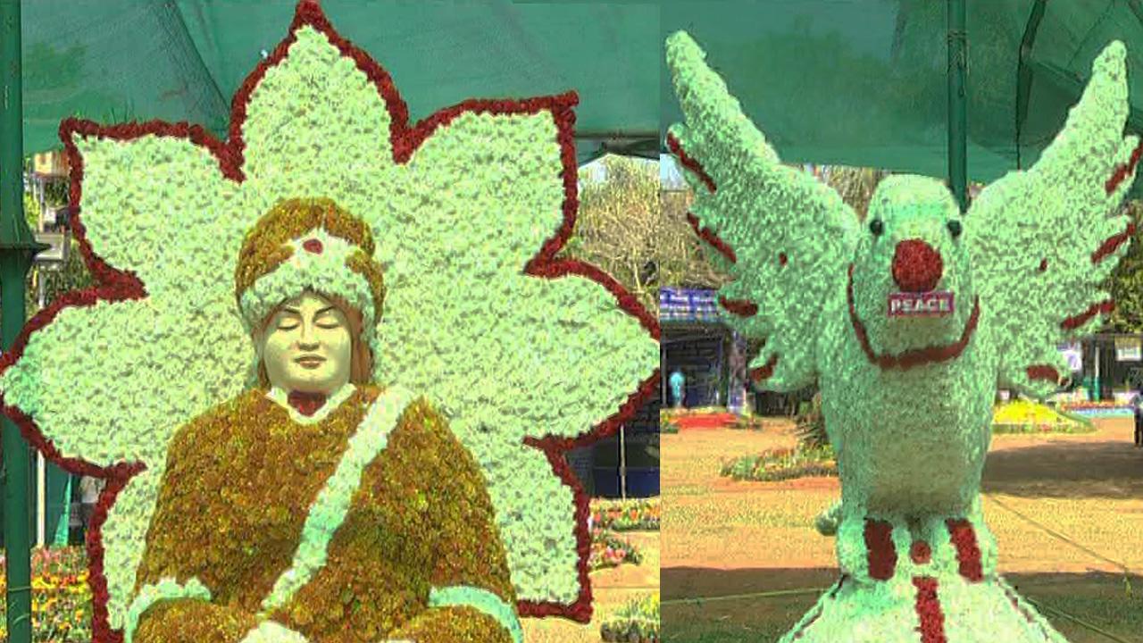 ಕದ್ರಿ ಪಾರ್ಕ್ನಲ್ಲಿ ಅರಳಿ ನಿಂತ ಹೂವಿನ ಲೋಕ: ಫ್ಲವರ್ ಶೋಗೆ ಜನತೆ ಫಿದಾ