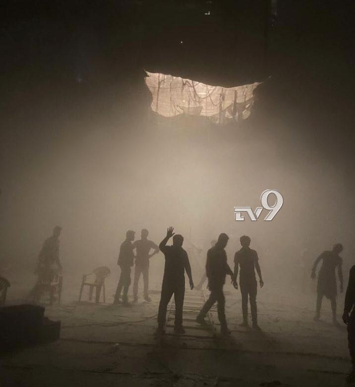 , ಶಿವರಾಜ್ ಕುಮಾರ್ ನಟನೆಯ ಭಜರಂಗಿ 2 ಸಿನಿಮಾ ಸೆಟ್ನಲ್ಲಿ ಬೆಂಕಿ ಅವಘಡ