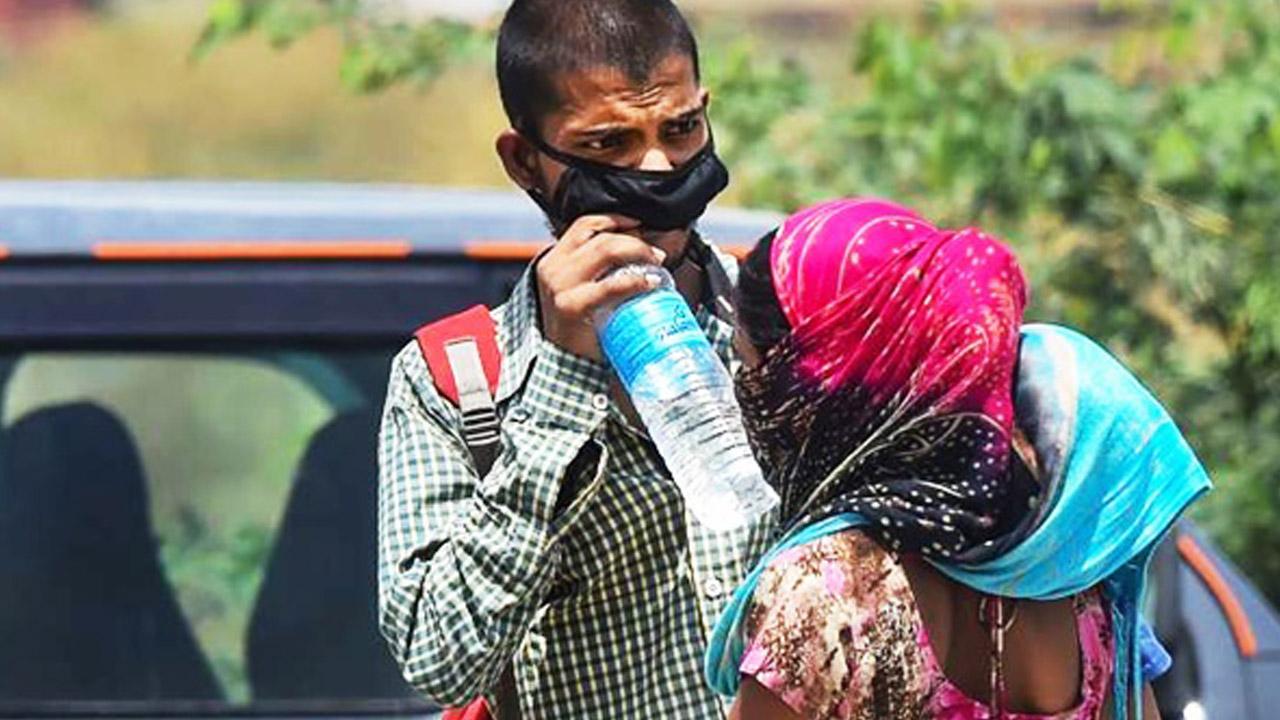 ಕೊರೊನಾ ನಡುವೆ ಉರಿಬಿಸಿಲಿನ ಆರ್ಭಟಕ್ಕೆ ತತ್ತರಿಸಿದ ಉತ್ತರ ಭಾರತ